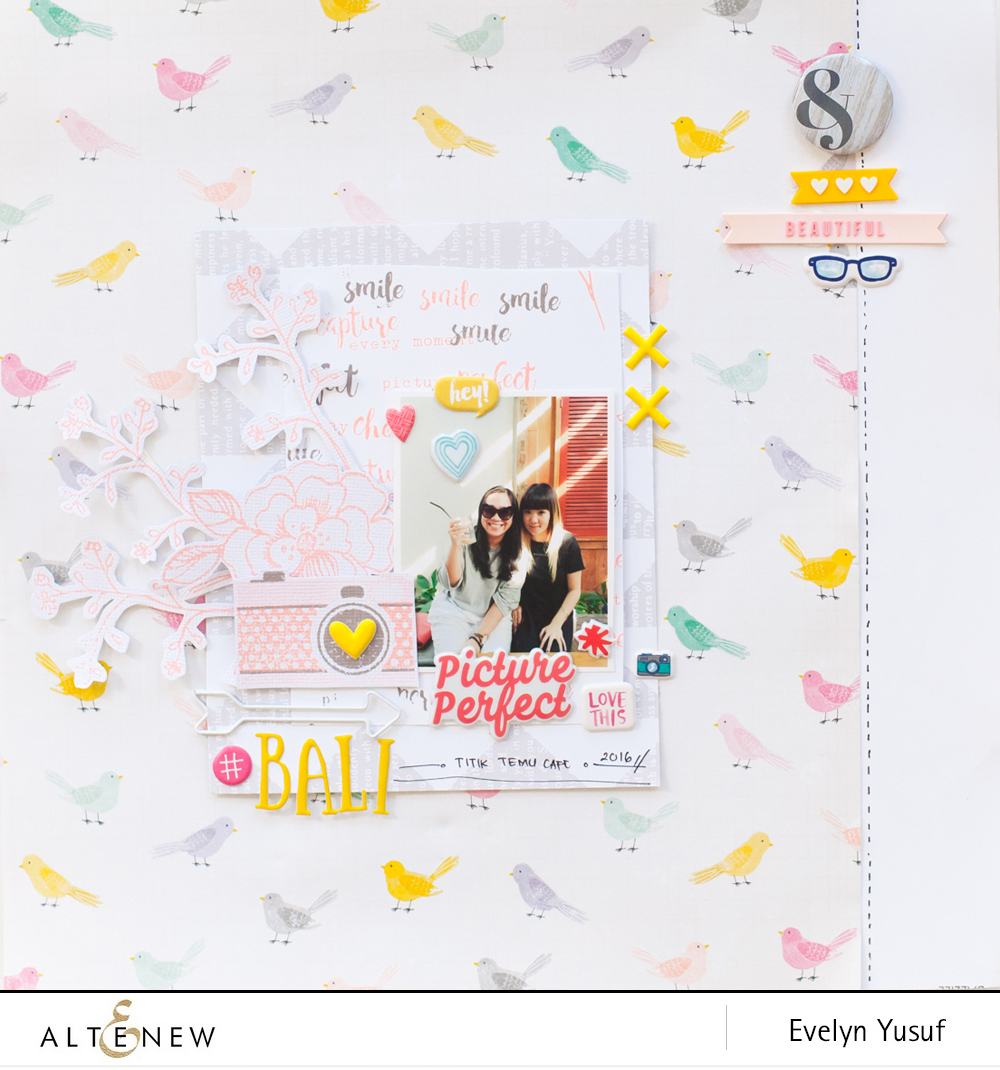 Picture Perfect Full Layout by Evelynpy
