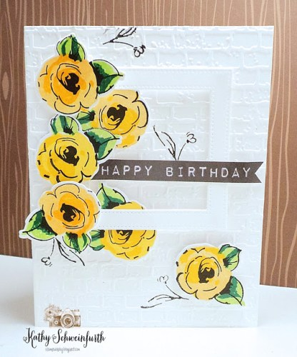 Yellow Floral 2