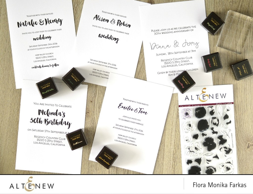 how to print wedding invitations