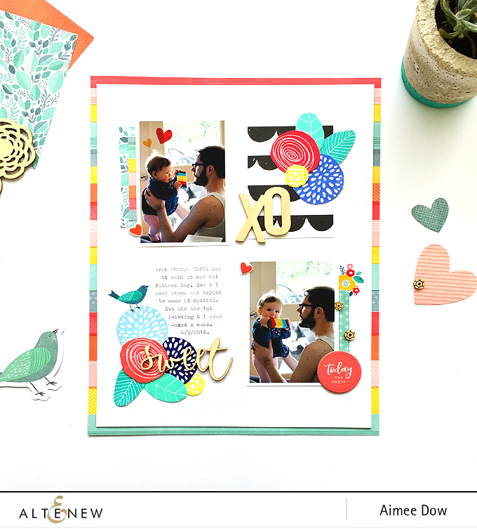First Father's Day Layout