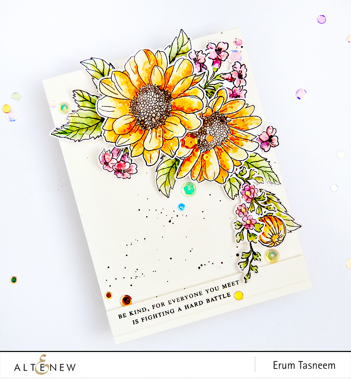 Spring daisy archives altenew blog altenew spring daisy beautiful day sentiments and quotes stamp sets erum tasneem izmirmasajfo