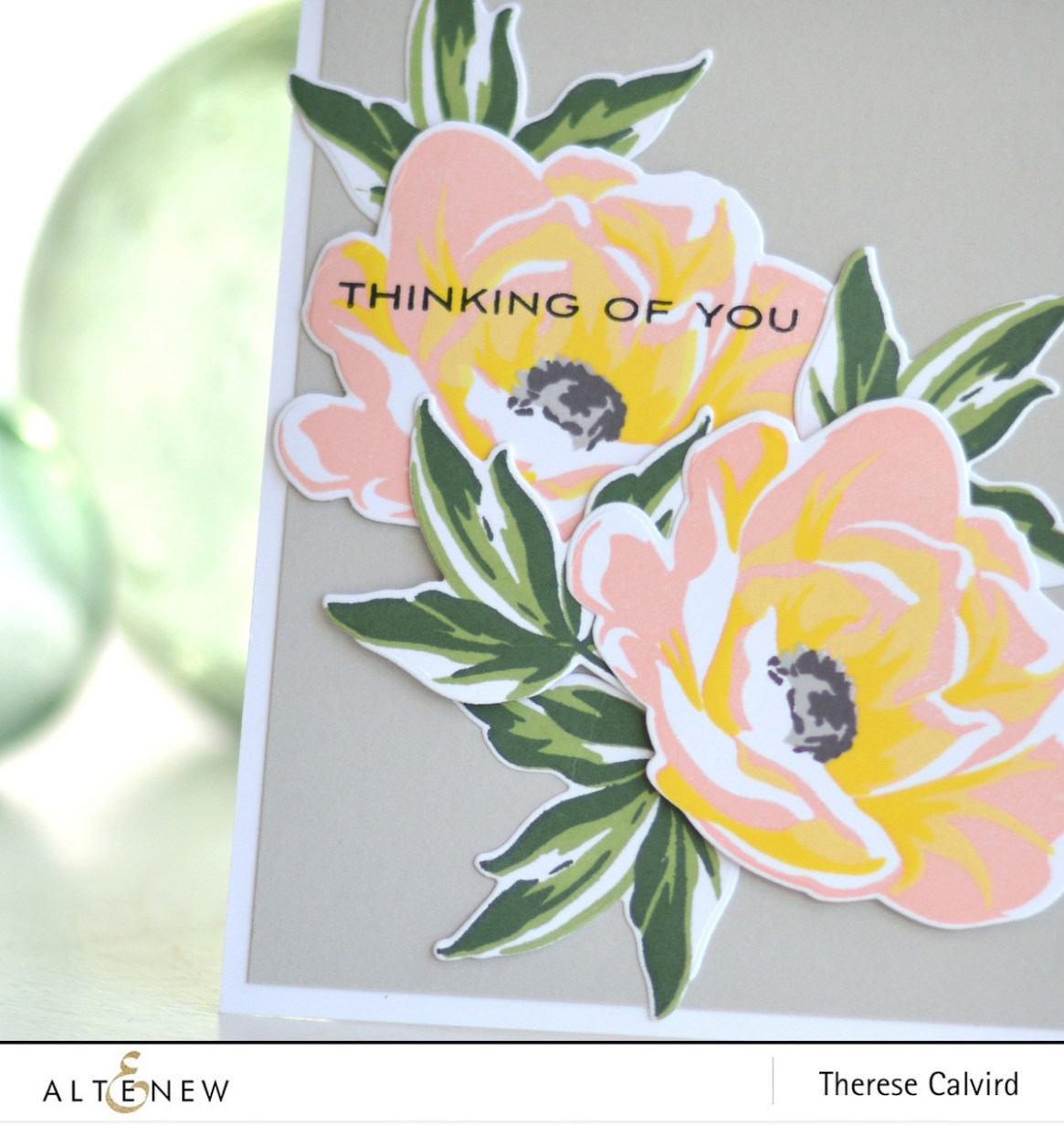 Altenew - Hope - Thinking of You - Therese Calvird (card video) 1 copy
