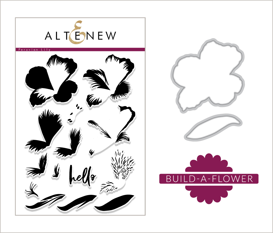 Build A Flower Peruvian Lily Release Giveaway Altenew Blog