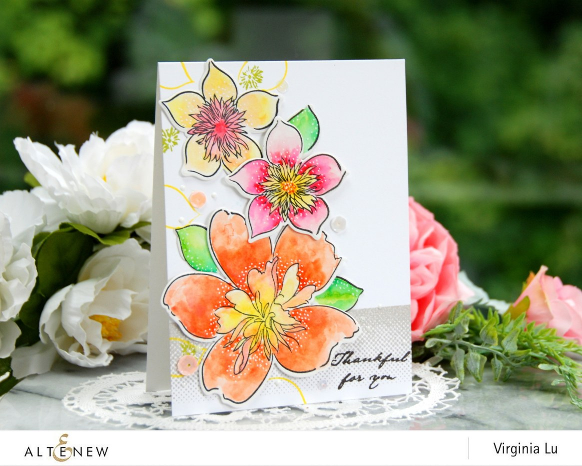 Altenew-FloralArt-Virginia#1