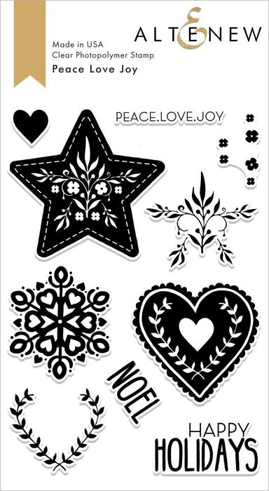 Altenew-PeaceLoveJoy-StampSet