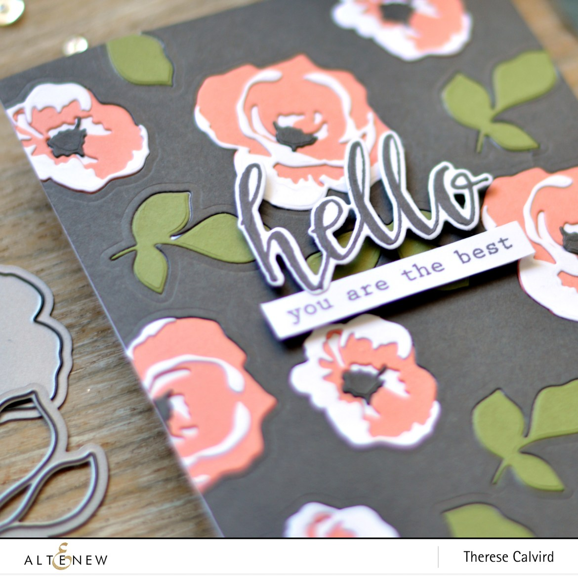 Altenew - Garden Picks 3D Die - Take 2 with Therese - Lostinpaper (card video) 1 copy