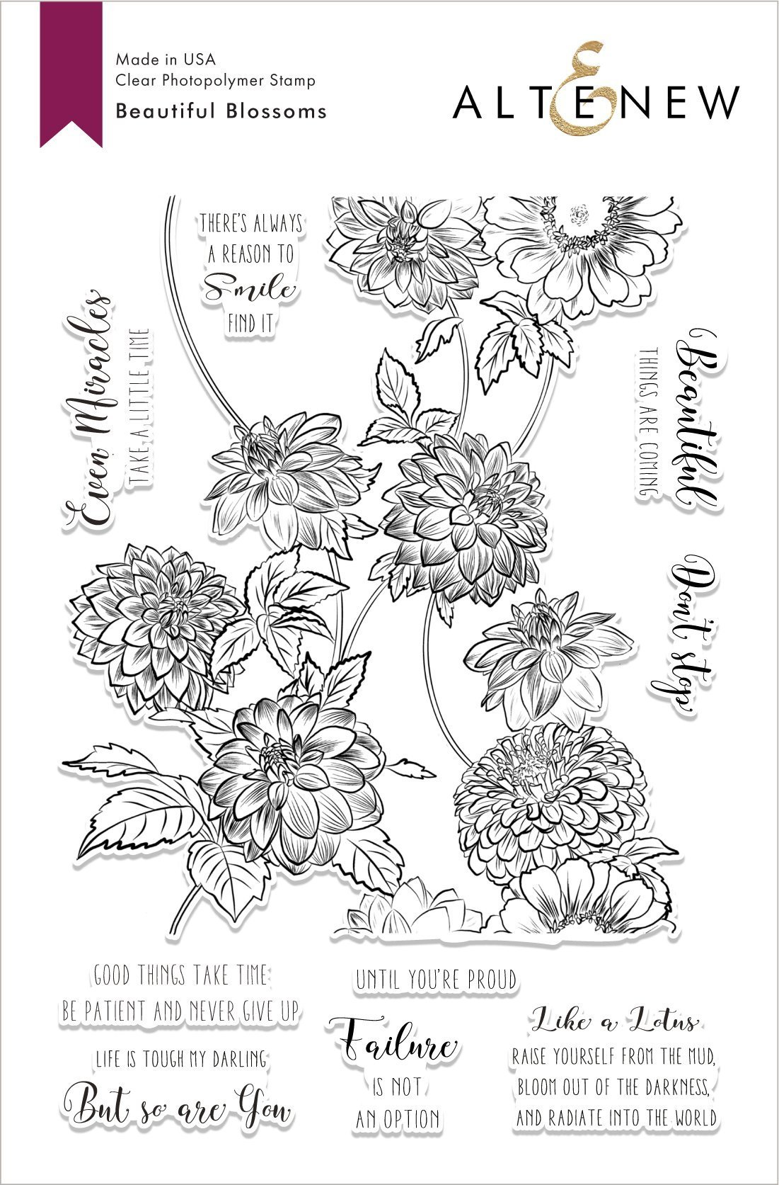 Altenew-BeautifulBlossomsStampSet