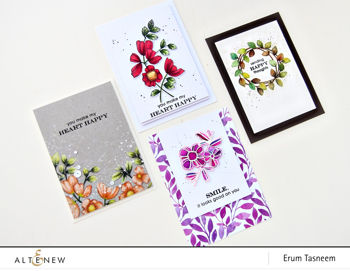 Altenew Weekend Doodles Stamp Set | Erum Tsneem | @pr0digy0