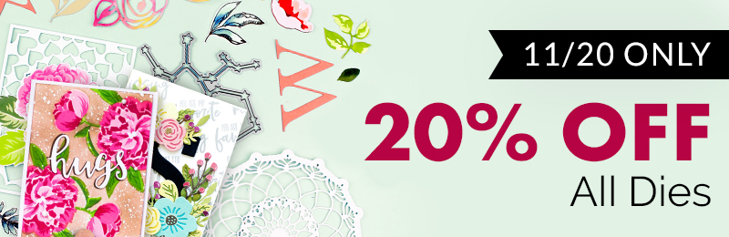20% off die collection