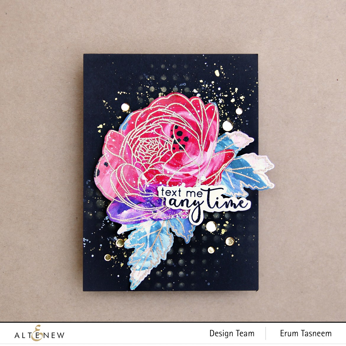 Altenew Sweet Nothings Stamp Set | Erum Tasneem | @pr0digy0