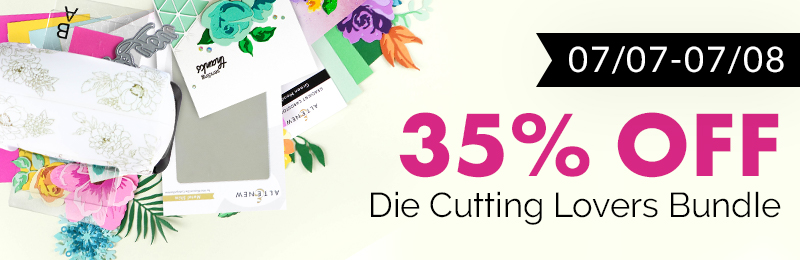 35 off die cutting bundle