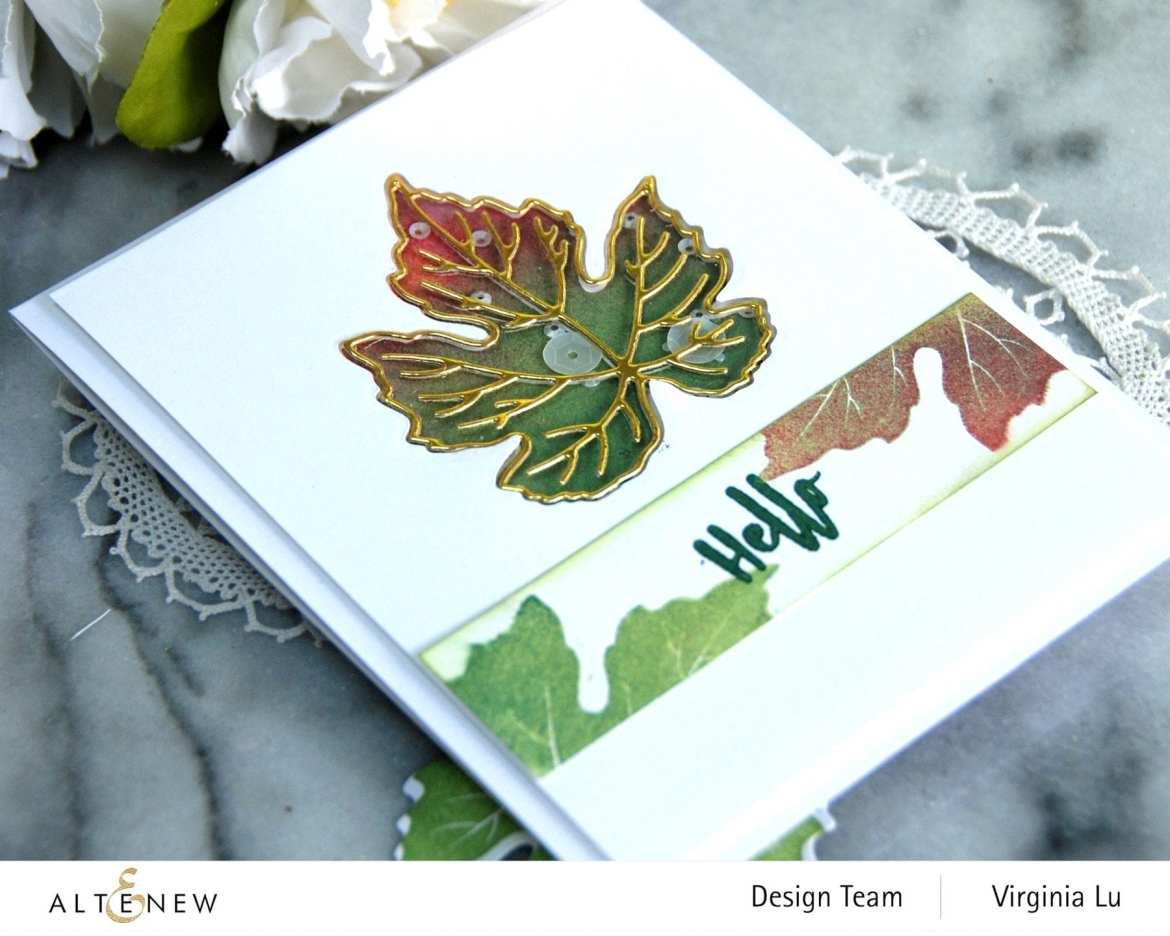 09-12-2020-Grape Leaves Stamp Set-Mixed Media Pigment Ink-002
