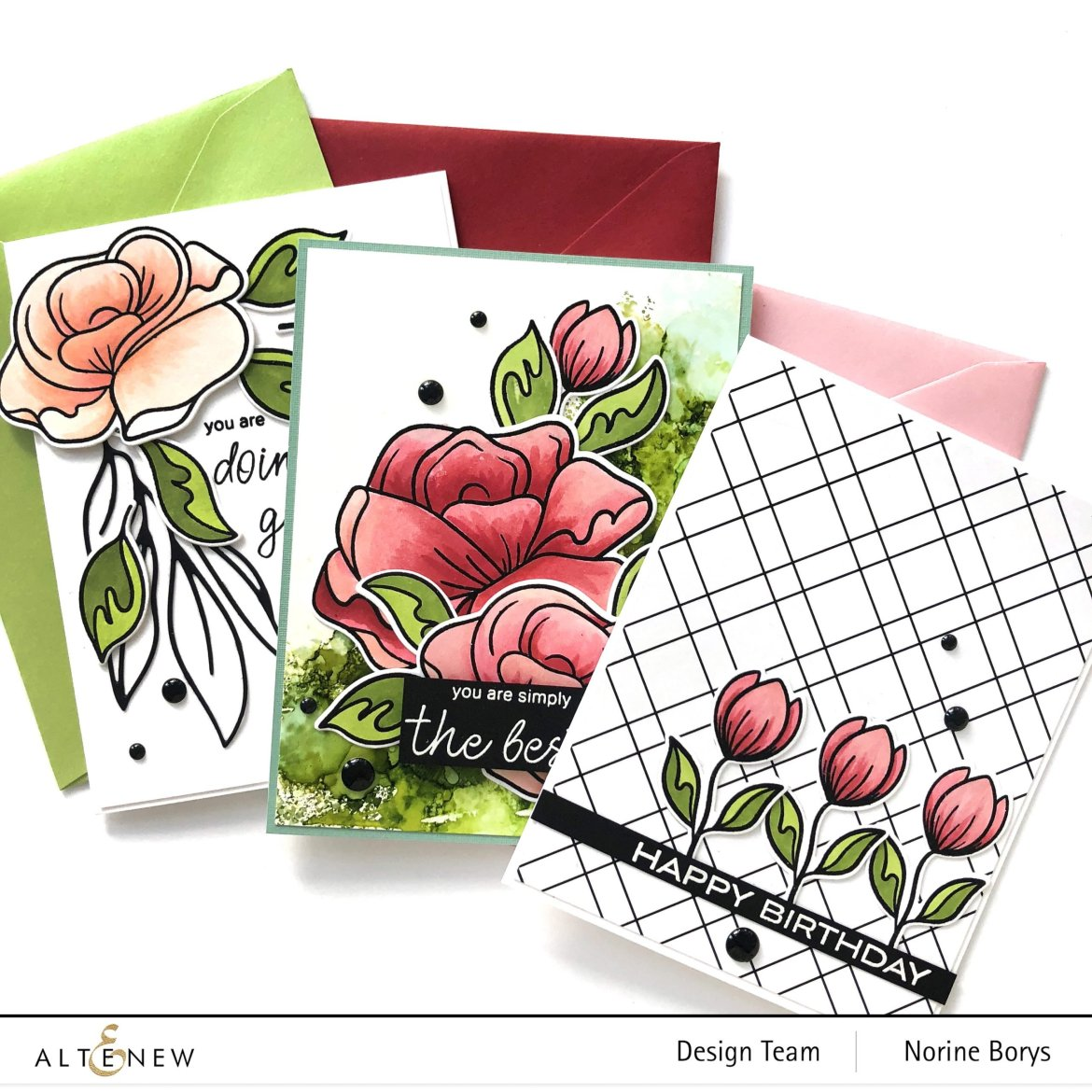 Floral Card Making Styles