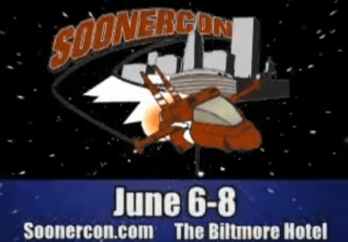 SoonerCon 2008 TV commercial