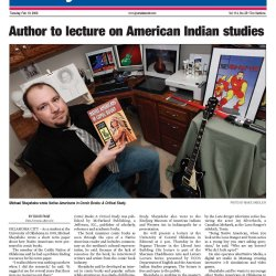 Michael Sheyahshe article in Journal Record