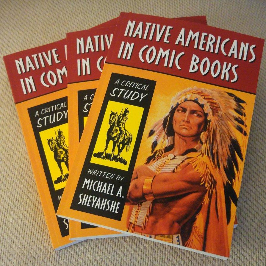 Native Americans in Comic Books paperback