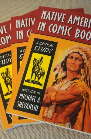 Native Americans in Comic Books paperback