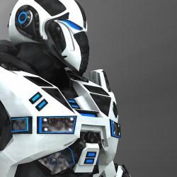 Random 3D robot