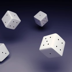 animated 3D models of dice