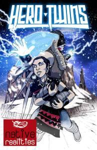 Hero Twins comic book cover.