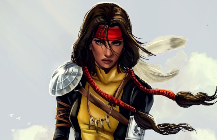 Danielle Moonstar of The New Mutants