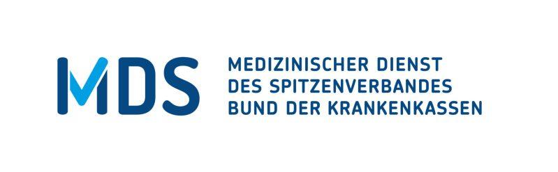 Logo des Medizinischen Dienstes des Spitzenverbandes Bund der Krankenkassen