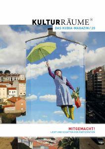 Screenshot der Titelseite des Kubia-Magazins 20