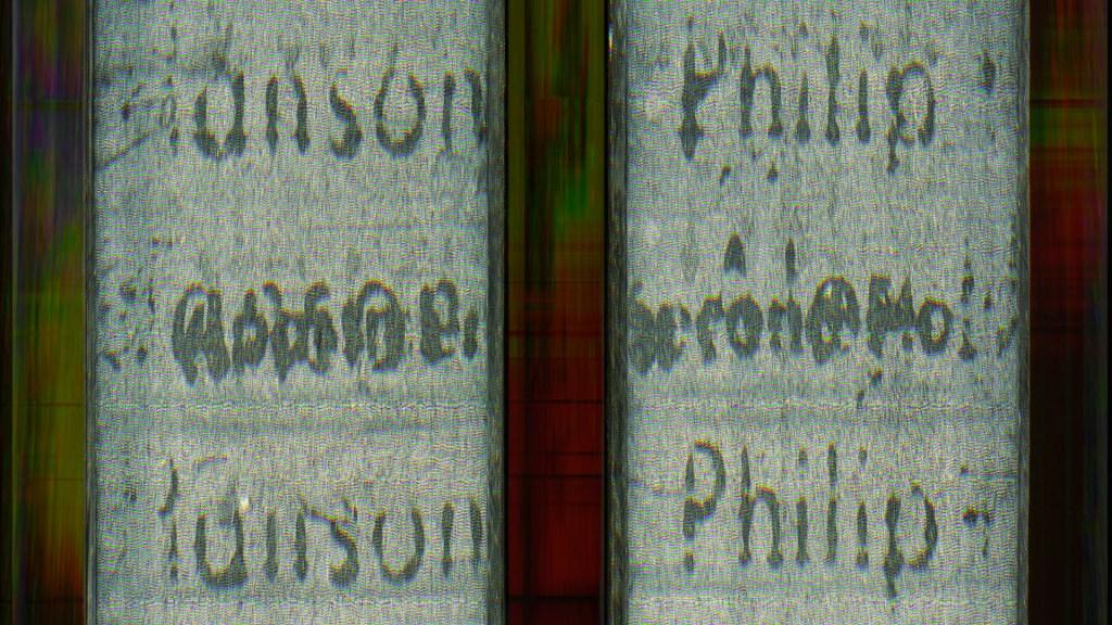 Palimpsest Series 3 (Philip) © 2015