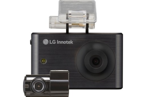LG - RNEK-MN31B 720P HD LCD TOUCHSCREEN DASHCAM w/ VGA REAR CAM