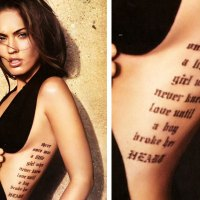 Megan Fox Tattoos and Their Meanings