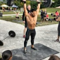Adam Tabalno – Crossfit competitor, Olympic lifting competitor, Tri-Athlete, Kickboxer, Former Bodybuilder, and the list goes on and on with this guy