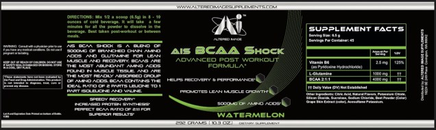 AIS BCAA Shock (Watermelon)