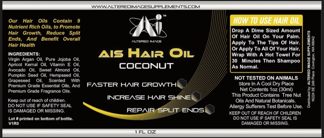 AIS Hair Oil