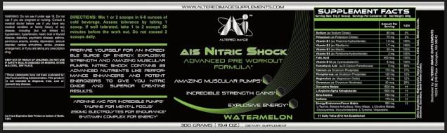AIS Nitric Shock (Watermelon)