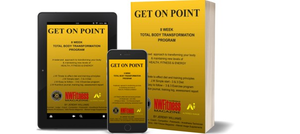 GET ON POINT - 8 WEEK TOTAL BODY TRANSFORMATION PROGRAM