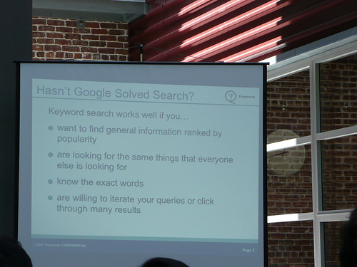 """Hasn't Google solved search?"" by asmythie/Flickr"