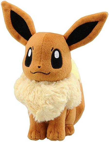 5. Pokemon Eevee Anime Animal Stuffed Plush Toy, 6-Inch