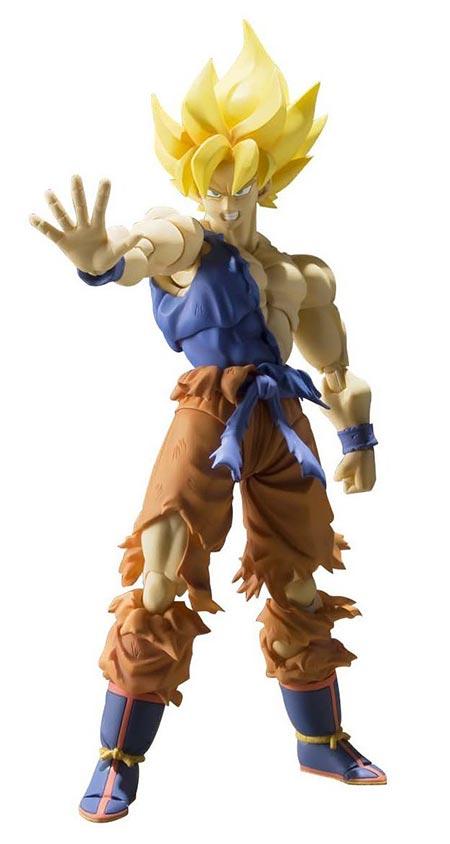 9. Bandai Tamashii Nations Super Saiyan Son Goku Super Warrior