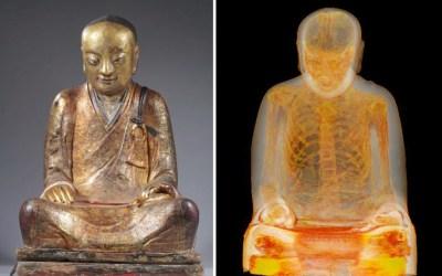 CT Scan of 1,000-Year-Old Buddha Statue Reveals Mummified Monk Hidden Inside