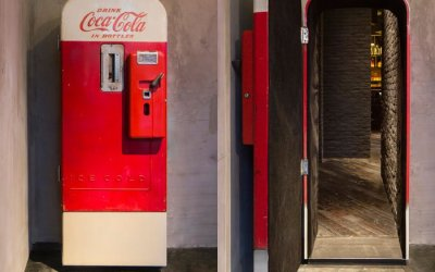 Speakeasy in Shanghai Hidden Behind This Old Coke Machine