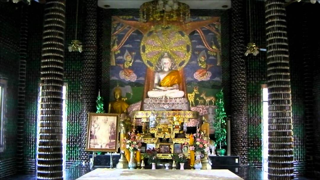 Beer Bottle Temple, Thailand 4