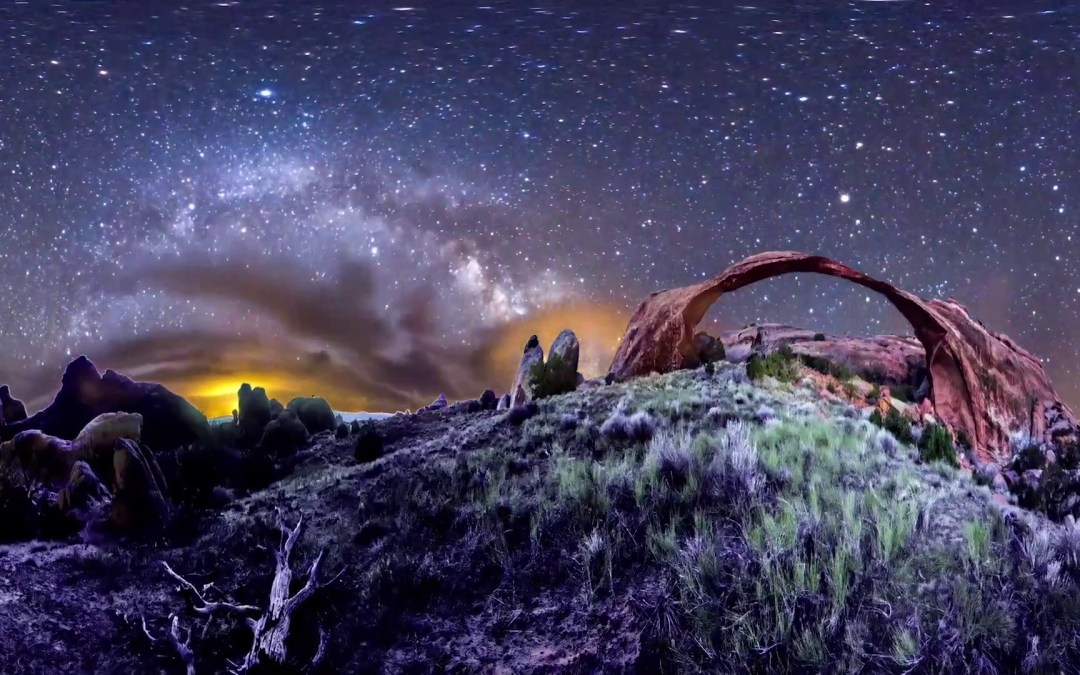 A Multi-Camera 360° Panoramic Timelapse of the Stars by Vincent Brady
