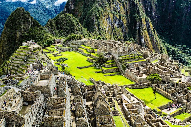 Machu Picchu, the Ancient Inca Fortress
