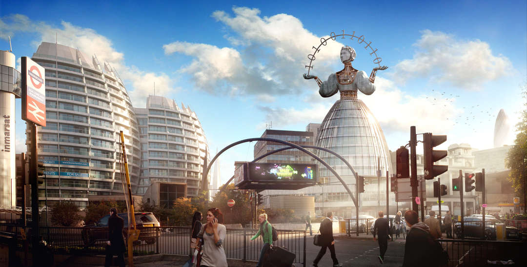 These Renderings Show How to Build Gender Equality into London's Architecture