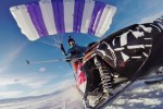 A Parachute, A Snowmobile, A New, Deeply-Unsafe Mode Of Transportation