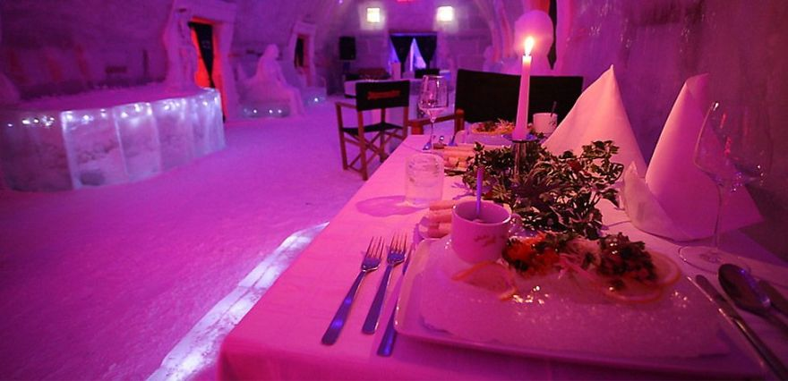 Would You Stay In This Romanian Ice Hotel?