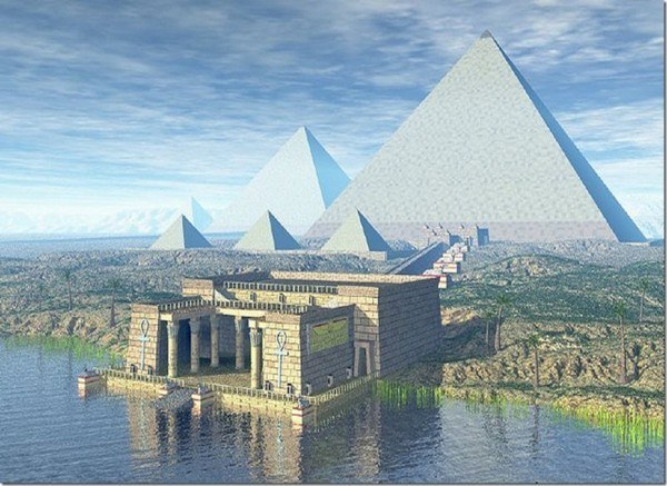True Color Of The Great Pyramid of Giza