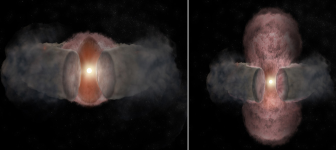 Astronomers Watch Unfolding Saga of Massive Star Formation
