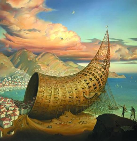 Crazy Awesome Paintings -horn_of_babel600_460