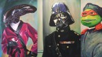 Famous Characters Go into 80's by Hillary White